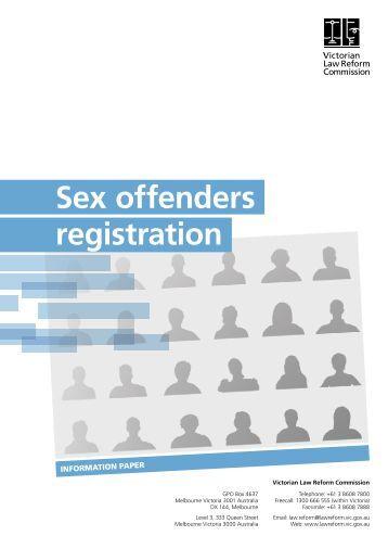 sex offender registration laws