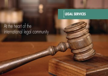 4 Legal Services - World Class Scotland