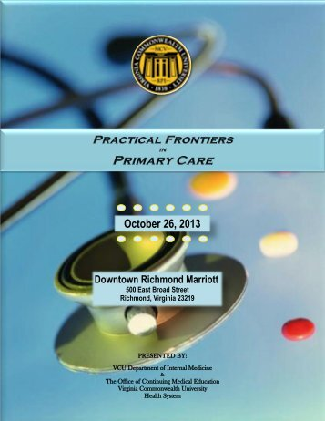 brochure - Virginia Commonwealth University Health System