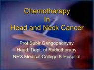 Chemotherapy In Head and Neck Cancer - Aroi.org