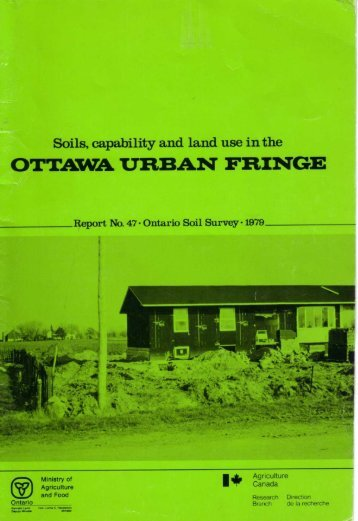 OTTAWA URBAN FRINGE - Agriculture and Agri-Food Canada