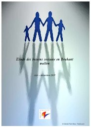 ETUDE Besoins sociaux VF 071231 - Province du Brabant wallon