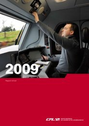 Rapport Annuel 2009 - CFL