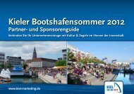 Kieler Bootshafensommer 2012 - Kiel Marketing
