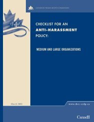 checklist for an anti-harassment policy: medium and ... - HRInsider
