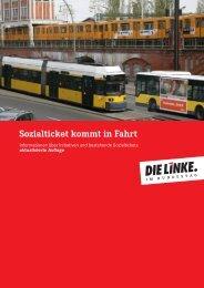 Sozialticket kommt in Fahrt - DIE LINKE. Alexander Süßmair, MdB