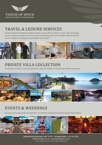 travel & leisure services private villa collection events & weddings