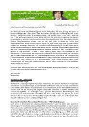 Energie.Update Dezember 2011 & Klimafreundliche ... - Wibke Brems
