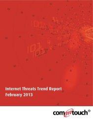 Internet Threats Trend Report