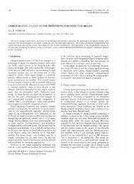 Charge domain analog signal processing.pdf - Dr. Eric R. Fossum's ...