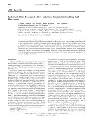 ARTICLES - Department of Chemistry - University of Minnesota
