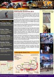 Indianapolis Grand Prix 2012 - Pole Position Travel