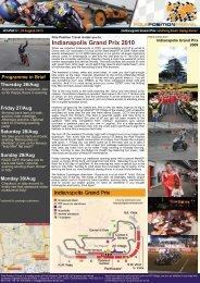 Indianapolis Grand Prix 2010 - Pole Position Travel