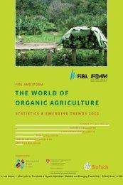 the World of organic agriculture - Ambiente e Territorio