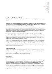 Living Bazaar: 2011 Preview by Esprit home Mit der neuen Interieur ...