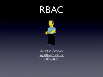 rbac - NetBSD