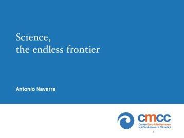 A European Perspective - A. Navarra (CMCC, Bologna Italy)