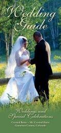 Wedding Guide - Gunnison Crested Butte Tourism Association