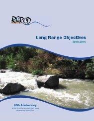Long Range Objectives - Riverside-Corona Resource Conservation ...