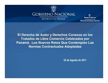 El Derecho de Autor y Derechos Conexos en los Tratados de