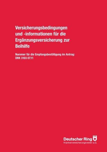 Versicherungsbedingungen und -informationen für die - Eureka24.de