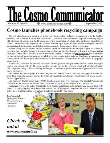 September 2012 edition - Cosmopolitan Industries