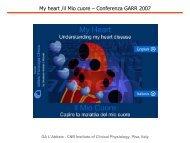 My heart /il Mio cuore – Conferenza GARR 2007