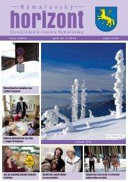Rýmařovský horizont 4 - 2012 - Středisko volného času Rýmařov