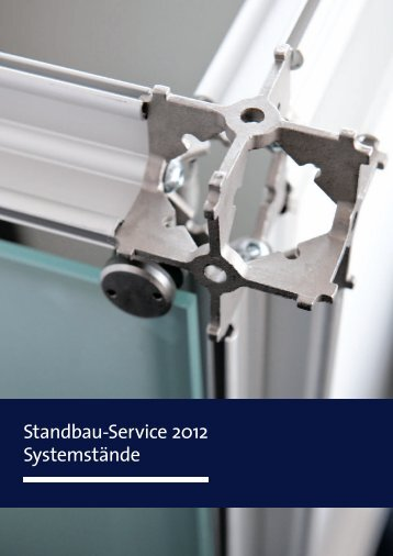 Systemstand Typ Line - EuroBLECH 2012