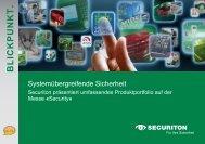 Blickpunkt Nr. 9 I September 2010 - Securiton GmbH