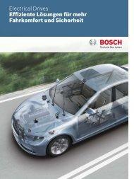 Effiziente Lösungen für mehr Fahrkomfort und Sicherheit - Bosch ...