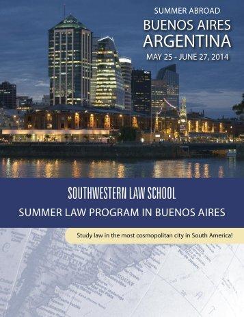 ARGENTINA - Southwestern Law School