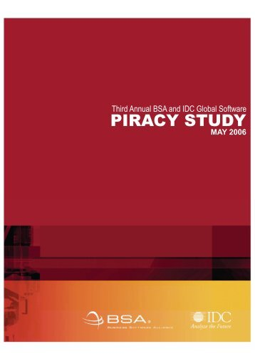 2005 Piracy Study - Official Version