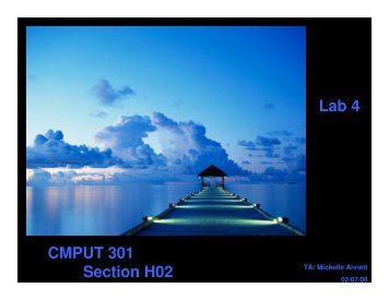Lab 4 CMPUT 301 Section H02 - Webdocs Cs Ualberta