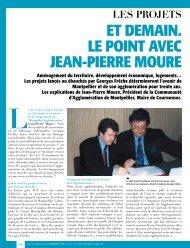 et demaiN. le poiNt aVec JeaN-pierre moure - Montpellier ...