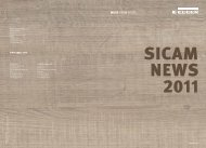SICAM News 2011 - Fritz Egger GmbH & Co.