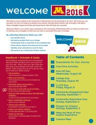Residence Hall Community Events - Orientation and First-Year ...