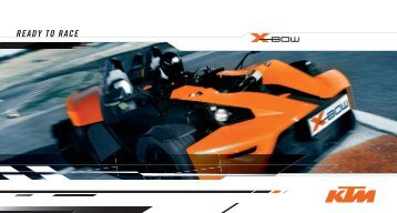 READY TO RACE - KTM X-Bow