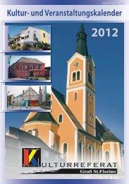 Der Kultur- und Veranstaltungskalender 2012 hier als pdf