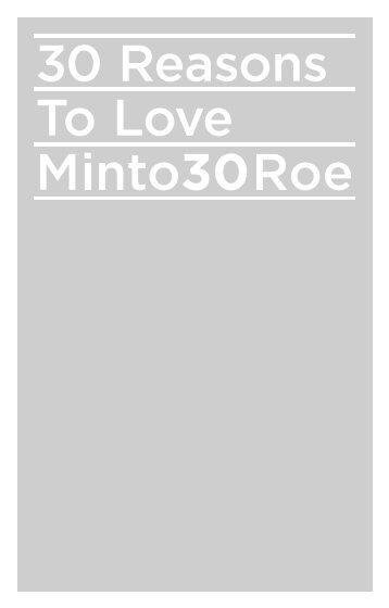 the roe brochure - Minto