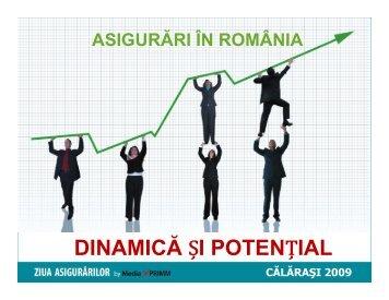 Asigurari in Romania - Dinamica si Potential - Media XPRIMM