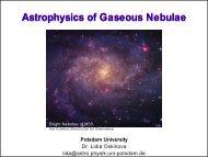 Astrophysics of Gaseous Nebulae