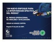 El Riesgo Operacional - Consejo Colombiano de Seguridad