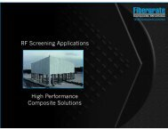 RF Screening Applications High Performance Composite Solutions