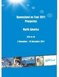 Queensland on Tour 2011 Prospectus North America - Whitsundays