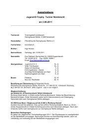 Ausschreibung Jugend-D-Trophy Turnier Nümbrecht am 3.09 ... - EWU