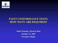 PAINT CONFORMANCE TESTS - NSRP