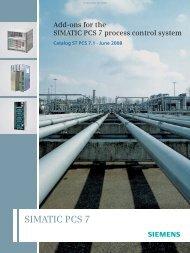 Catalog ST PCS 7.1 - June 2008 - Industry
