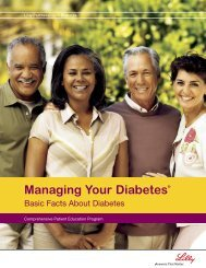 Managing Your Diabetes® - The Health Plan