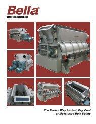 Bella™ Dryer/Cooler Bulletin 21007 4 pages / 488K - Dynamic Air Inc.